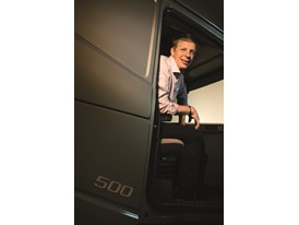 Ulf Andreasson, product manager for cab development at Volvo Trucks