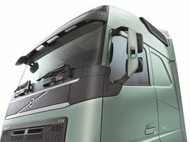 The new Volvo FH - studio image, rear view mirror