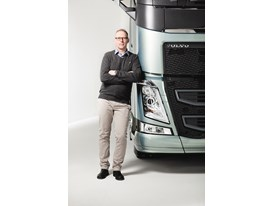 Kenneth Abrahamsson, Project Manager for verification, validation and features for the new Volvo FH 1