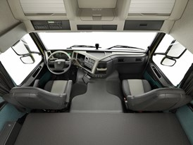Interior studio image: The new Volvo FM