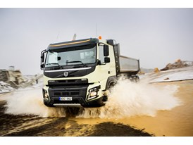 New Volvo FMX: Looks better even after a days hard work