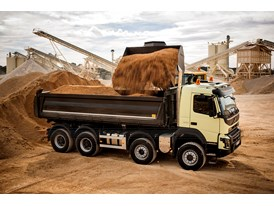 New Volvo FMX: Comfortable and agile