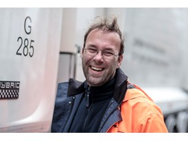 Ton van der Horst, Truck Operator at Roteb