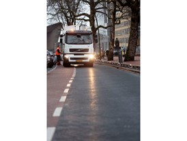 Volvo FE Hybrid truck used by Roteb