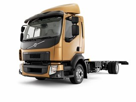 New Volvo FL has a clearly identifiable Volvo image