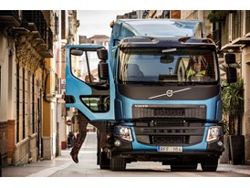 New Volvo FE - comfortable driver environment