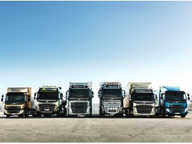 Volvo Trucks has renewed its entire truck model range in eight months 2