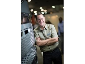 Gary Bone, vice president of Volvo Trucks Australia