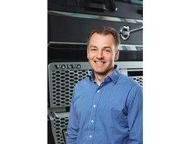 Jonas Nordqvist, product feature and profitability manager in the strategic planning department at Volvo Trucks