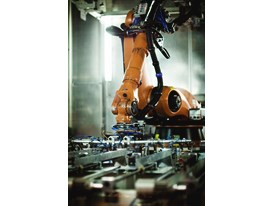 More than 300 robots carry out the assembly process.