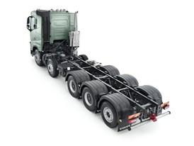 Volvo Truck FH 10x4 Studio Top Back