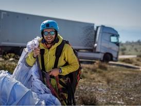 Guillaume Galvani, Pro Paraglider Pilot
