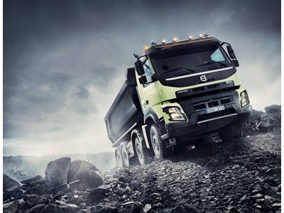 Volvo Trucks first with Automatic All-Wheel Drive - for Improved Driveability and Economy