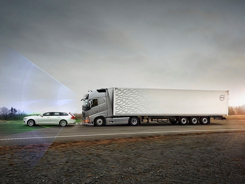 Volvo Trucks | thenewsmarket.com : <b>Intelligent safety systems</b> to ...