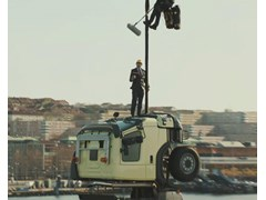 Volvo Trucks President Takes Role of Stuntman