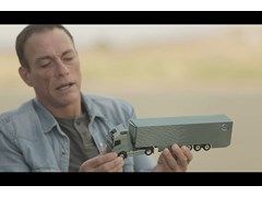 Jean-Claude Van Damme Stars in Volvo Trucks' Latest Film 'The Epic Split'