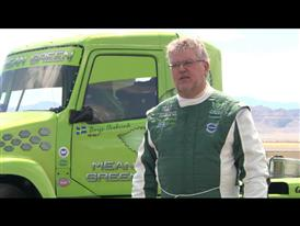 Volvo Trucks Mean Green Hybrid Truck World Speed