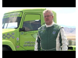 New World Speed Records for Volvo Hybrid Truck - New Video Available
