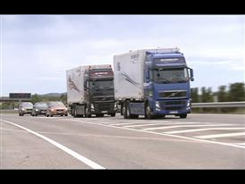 Volvo Trucks - A Volvo FH led the first-ever trucks/cars platoon on public roads