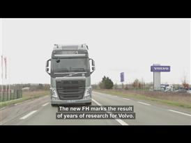 First Volvo FH now on the road – eBay auction winner drives home his truck
