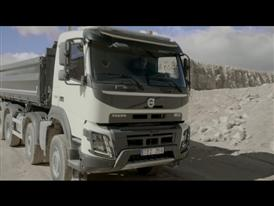 The new Volvo FMX: Robust, great to drive and tailor-made for construction