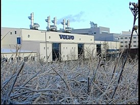 Volvo Group factory in Umea, Sweden