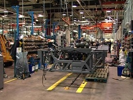 Assembly of Volvo buses