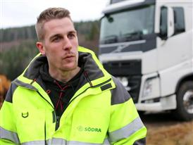 Fewer injuries at work with Volvo Dynamic Steering - VO only