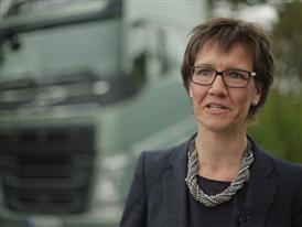 Short clip: Interview Astrid Drewsen, Product Manager Driveline, Volvo Trucks.