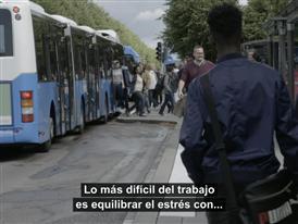 Silent Bus Sessions - Driver Portrait Spanish
