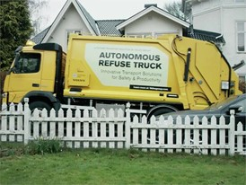 Volvo Trucks –  Refuse handling like you've never seen it before (autonomous truck)