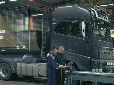 Eight of ten truck standstills can be avoided with preventive maintenance