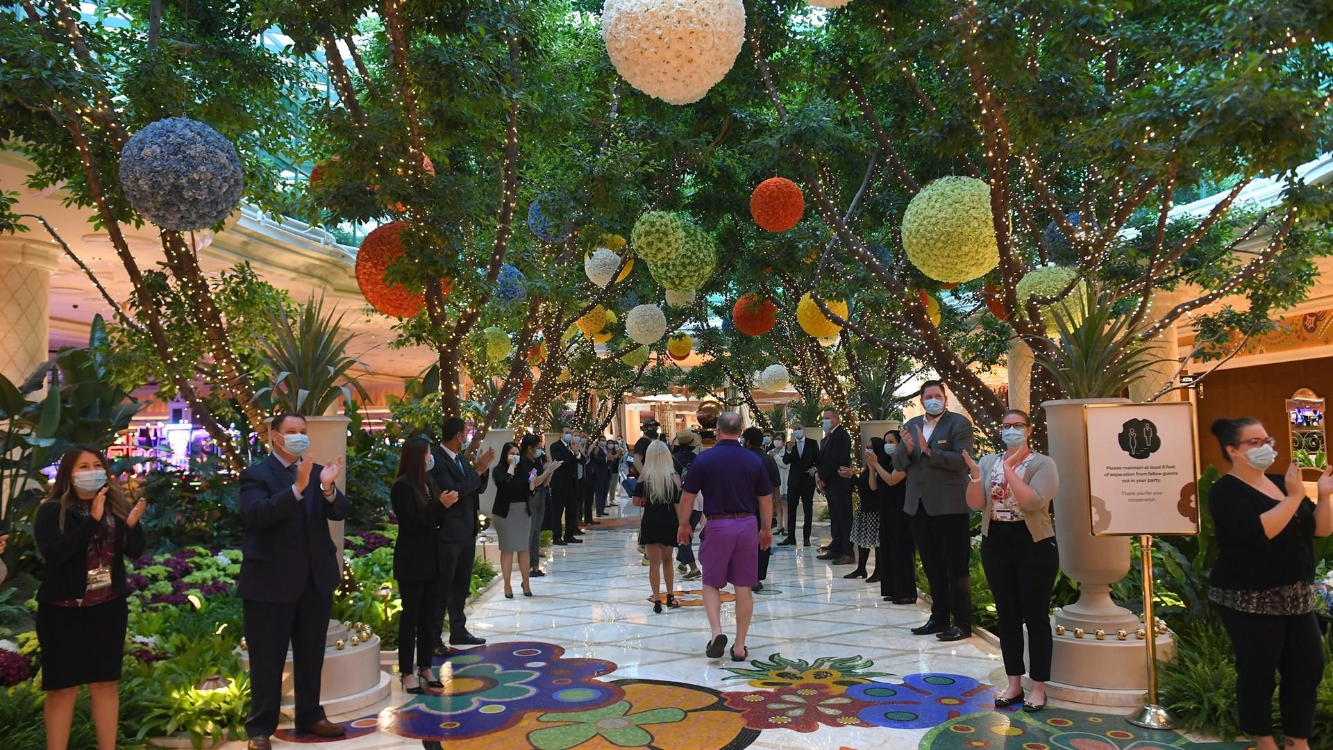 Wynn Las Vegas Reopening - Guest Entry