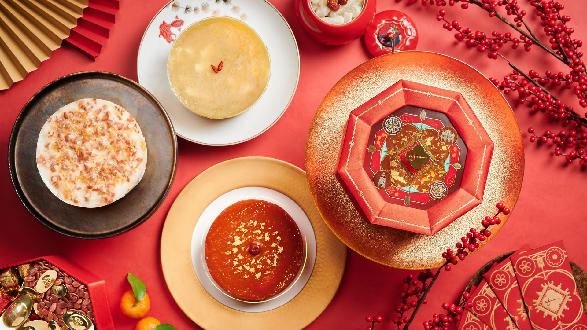 Wynn Chinese New Year Cakes