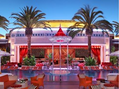 Encore Beach Club and Encore Beach Club at Night