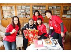 New recruits to the Wynn Employee Volunteer Team Spread Warmth and Care This New Year