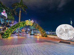 "Wynn Macau Lights Up Waterfront Promenade with ""Wynn Butterfly Story"""
