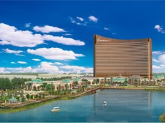 Encore Boston Harbor Building New Riverfront Playground and Riverwalk at Rivergreen in Everett