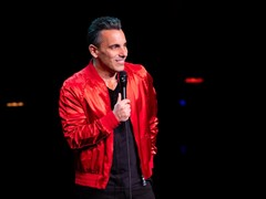 "Sebastian Maniscalco Set to Return to Wynn Las Vegas   with All-New ""You Bother Me"" Tour, Oct. 2019"
