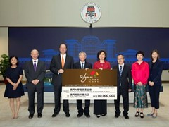 Wynn extends support for teaching, research and academic development at the University of Macau