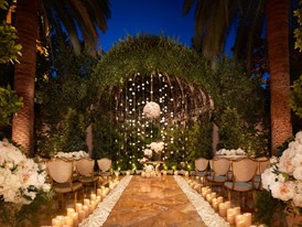 Weddings - Primrose Courtyard Night