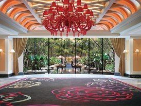 Wynn Macau -  Wynn Tower Lobby by Barbara Kraft