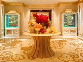 Wynn Macau -  Wynn Club Lobby  by Barbara Kraft