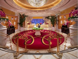 Wynn Macau - Encore Tower Lobby by Russell MacMasters