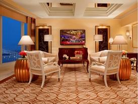 Wynn Two-bedroom Suite - Living Room  by Barbara Kraft