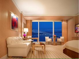 Wynn Deluxe Room -  With View  by Barbara Kraft