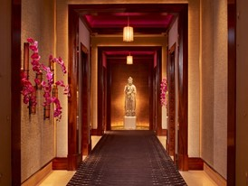The Spa at Encore -  Hallway by Russell MacMasters