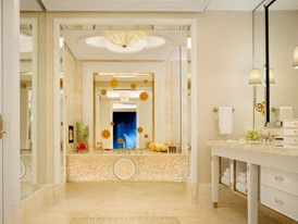 Wynn Palace Fountain Salon Suite Bathroom by Barbara Kraft