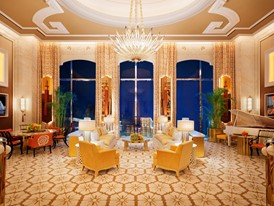 Wynn Palace Penthouse Living Room by Roger Davies