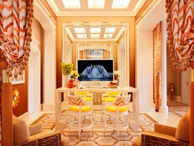 Wynn Palace  Garden Villa Bar by Roger Davies